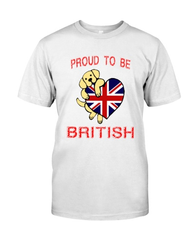 PROUD TO BE BRITISH