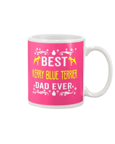 BEST KERRY BLUE TERRIER DAD EVER