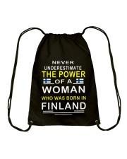 FINLAND TSHIRT Drawstring Bag thumbnail