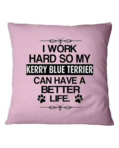 Kerry Blue Terrier can have a better life