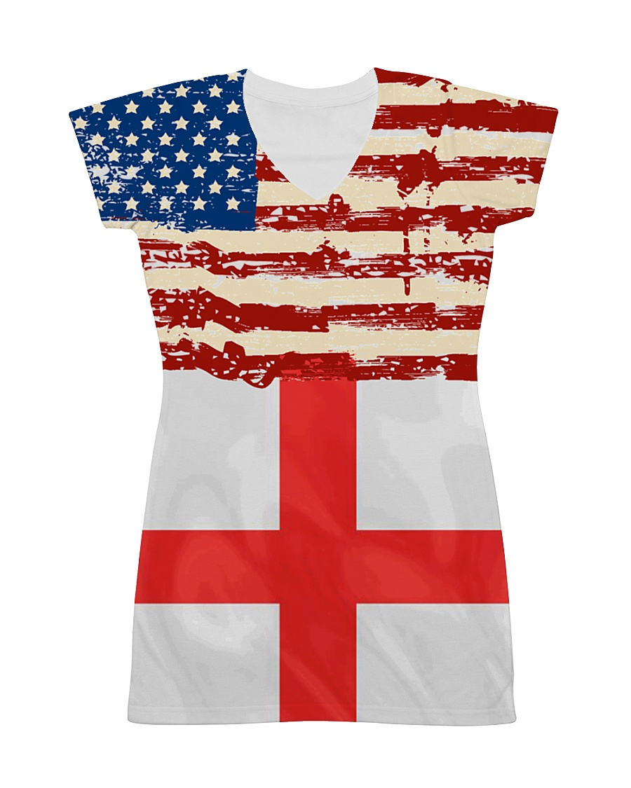 ENGLAND-AMERICAN  All-over Dress