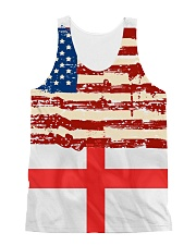 ENGLAND-AMERICAN  All-Over Unisex Tank tile