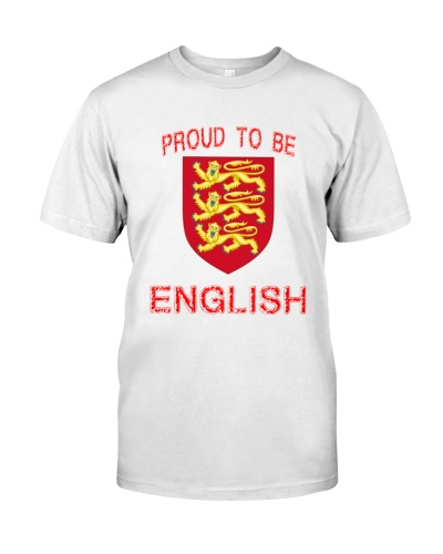 PROUD TO BE ENGLISH