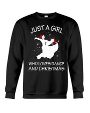 Love Dance and Christmas Crewneck Sweatshirt thumbnail