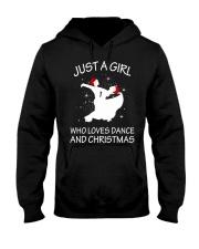 Love Dance and Christmas Hooded Sweatshirt thumbnail