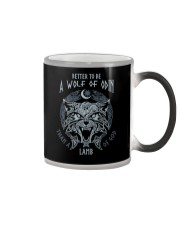 The Wolf of Odin Color Changing Mug thumbnail