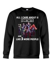 Fortnite fans - Dont Miss This Shirt Crewneck Sweatshirt thumbnail