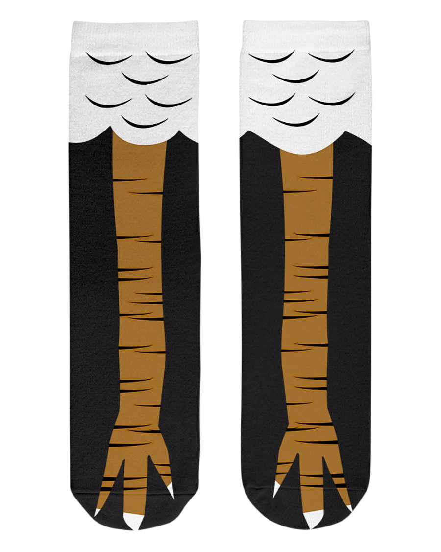 CHICKEN SOCKS  Crew Length Socks