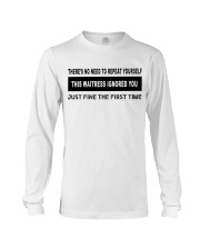 FUNNYDESIGN FOR WAITRESSES Long Sleeve Tee thumbnail