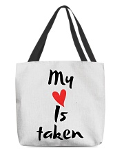 My heart is taken by Qrotero All-over Tote thumbnail