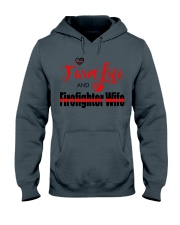 Farm  LIFE AND Firefighter WIFE Hooded Sweatshirt thumbnail