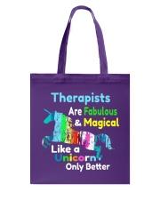 Therapists Tote Bag thumbnail