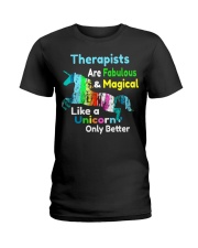 Therapists Ladies T-Shirt front