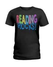 READING-ROCKS Ladies T-Shirt front