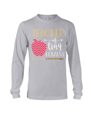 TEACHER OF TINY HUMANS Long Sleeve Tee thumbnail