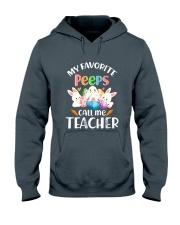MY FAVORITE PEEPS CALL ME TEACHER Hooded Sweatshirt thumbnail