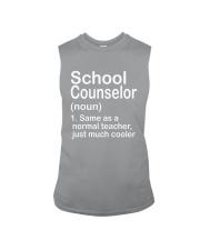 School Counselor - NOUN TEACHER T-SHIRT  Sleeveless Tee thumbnail