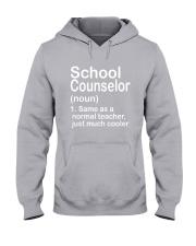 School Counselor - NOUN TEACHER T-SHIRT  Hooded Sweatshirt thumbnail