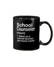School Counselor - NOUN TEACHER T-SHIRT  Mug thumbnail