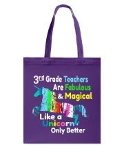 3RD TEACHERS Tote Bag thumbnail