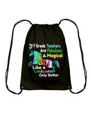 3RD TEACHERS Drawstring Bag thumbnail