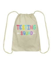 TESTING SQUAD Drawstring Bag thumbnail