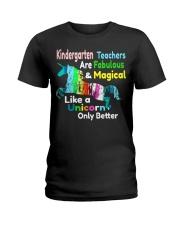 KINDERGARTEN TEACHERS Ladies T-Shirt front
