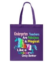 KINDERGARTEN TEACHERS Tote Bag thumbnail
