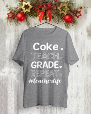 COKE TEACH GRADE REPEAT Classic T-Shirt lifestyle-holiday-crewneck-front-2