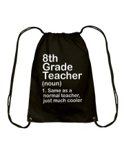 nganld 8th grade - NOUN TEACHER T-SHIRT  Drawstring Bag thumbnail