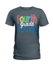 FOURTH-GRADE-ROCKS Ladies T-Shirt tile