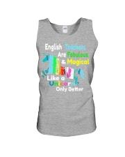 English teachers Unisex Tank thumbnail