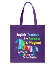 English teachers Tote Bag thumbnail