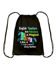 English teachers Drawstring Bag thumbnail