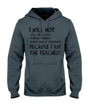 BECAUSE I AM THE TEACHER MUG Hooded Sweatshirt thumbnail