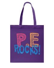 PE ROCKS Tote Bag thumbnail