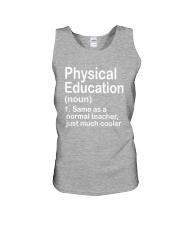 Physical Education - NOUN TEACHER T-SHIRT  Unisex Tank thumbnail