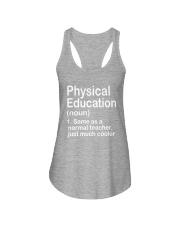 Physical Education - NOUN TEACHER T-SHIRT  Ladies Flowy Tank thumbnail