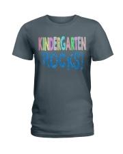 KINDERGARTEN-ROCKS Ladies T-Shirt tile