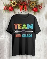 TEAM 2ND GRADE Classic T-Shirt lifestyle-holiday-crewneck-front-2