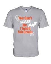 5TH GRADE SCARE SHIRT V-Neck T-Shirt thumbnail