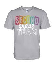 SECOND-GRADE-TEES V-Neck T-Shirt thumbnail