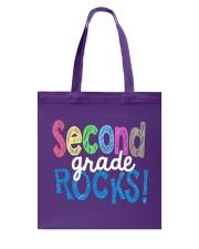 SECOND-GRADE-ROCKS Tote Bag thumbnail