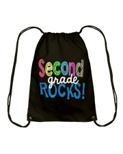 SECOND-GRADE-ROCKS Drawstring Bag thumbnail