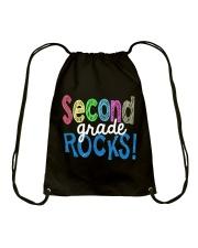 SECOND-GRADE-ROCKS Drawstring Bag thumbnail