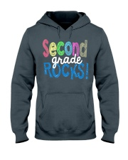 SECOND-GRADE-ROCKS Hooded Sweatshirt thumbnail