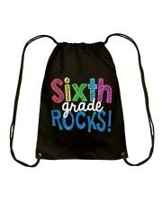 SIXTH-GRADE-ROCKS Drawstring Bag thumbnail