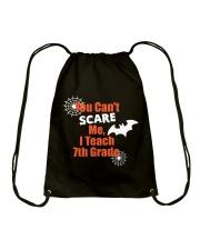 7TH GRADE SCARE SHIRT Drawstring Bag thumbnail