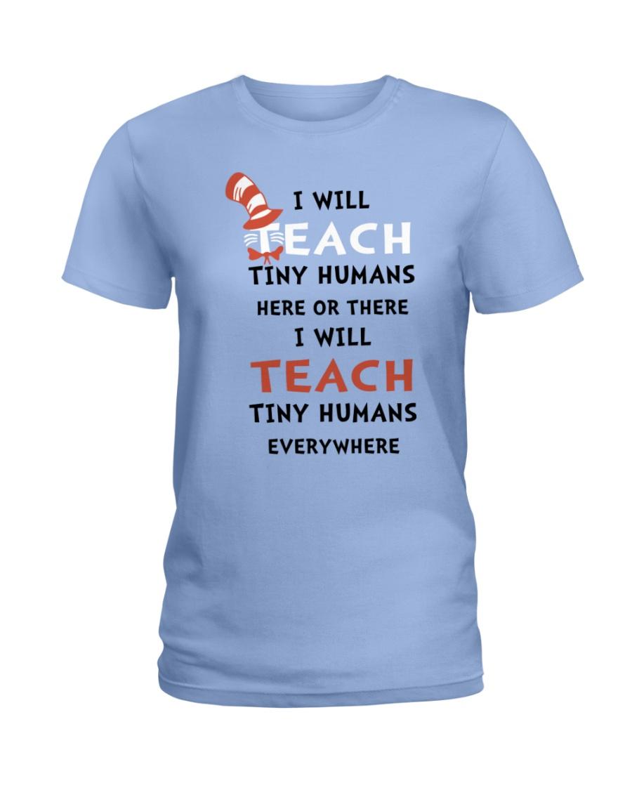 I WILL TEACH Ladies T-Shirt