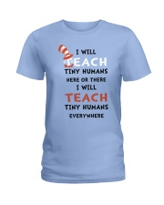 I WILL TEACH Ladies T-Shirt front